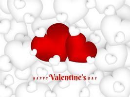 Fondo encantador abstracto feliz día de San Valentín
