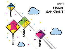 Makar Sankranti drakar