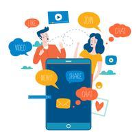 Redes sociales, redes sociales.