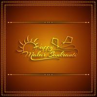 Abstracte gelukkige Makar Sankranti-achtergrond
