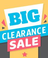 Big Clearance Sign