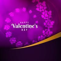 Astratto elegante San Valentino elegante sfondo elegante