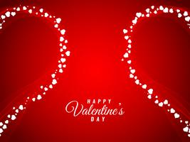 Eleganter stilvoller Hintergrund des abstrakten glücklichen Valentinstags