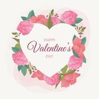 Valentinstag-Rahmen