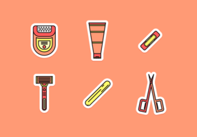Waxing Free Vector Pack