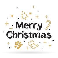 Jul bakgrund Vector bakgrund för banner