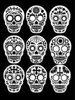 Mexicaanse suikerschedel