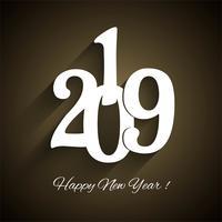 Fundo de celebração lindo ano novo 2019