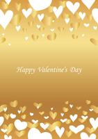 Valentine's Day abstract seamless background.