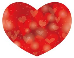 Valentine's Day/bridal abstract heart shape background.