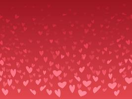 Seamless Valentine's Day background with heart shape pattern.