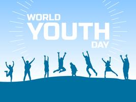 Beautiful World Youth Day Vectors