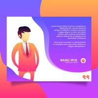Testimonial Design Template Vector