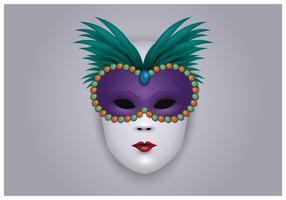 Masque Carnevale Di Venezia vecteur