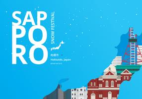 Sapporo Snow Festival med Sapporo Plats