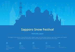 Sapporo Snow Festival con Sapporo Ubicación