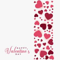 happy valentines day greeting background