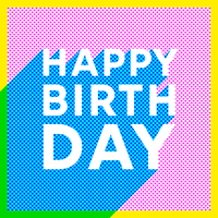 Halftone-birthday-card-vector