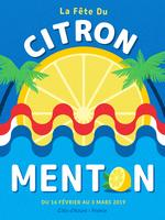 Menton-france-lemon-festival-poster-vector