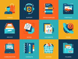 Business Essentials Icon Set