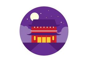 Sensoji Temple vector