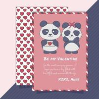 Vector Valentine's Day Cards