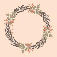 Vector Decorative Floral Frame