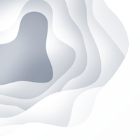 Fond de papier blanc coupé