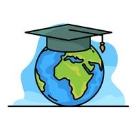 Global Education Illustration