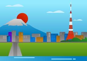 Incroyable vecteurs de Tokyo