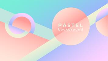 Geometric Pastel Wallpaper