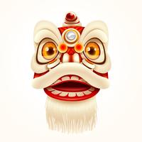 Capodanno cinese Lion Dance Head