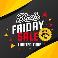 Vetor de venda de sexta-feira negra