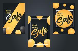 Black Friday-Verkoopbannermalplaatje Vectorontwerp