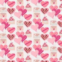 Vector Valentine's Day Seamless Pattern