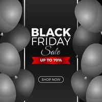 Banner de redes sociales de Black Friday
