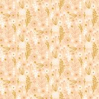 Vektor Floral Seamless Pattern