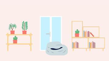 Wohnzimmer-Szene