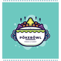 Poke Bowl Vector