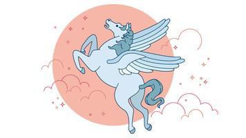Pegasus-Vektor