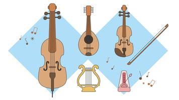 Stringinstrument Vector