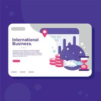 International Business Vector
