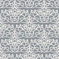 Vector Seamless Pattern. Laser Cut Template