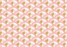 Art Deco Rose Gold Background Pattern vector