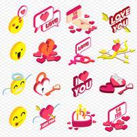 illustration av info grafisk valentin ikon koncept