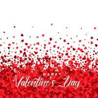 hearts particles background for vanetines day
