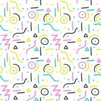 Memphis pattern design