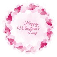 Vector Valentine's Day Decorative Border
