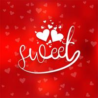 Feliz dia dos namorados amor cartão coração design ilustração