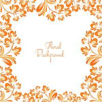 Decorative elegant floral background illustration